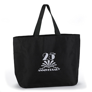 25th Anniversary Tote Bag imagerjs
