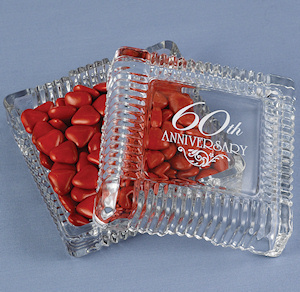 60th Anniversary Party Candy Dishes imagerjs