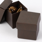 Mix and Match Favor Boxes - Mocha (Set of 25)