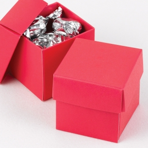 Mix And Match Favor Boxes Fuchsia Set Of 25