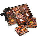 Triple Chocolate Halloween Brownie Gift Box