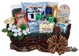 Best of Virginia Gift Basket data-pin-no-hover=