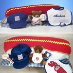 Hot Dog Baby Layette Gift Set