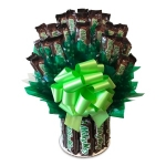 All Milky Way Candy Bar Bouquet