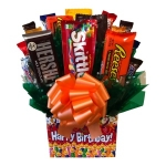 Happy Birthday Box Candy Bouquet
