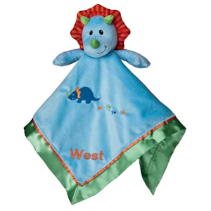 Personalized Dino the Dinosaur Blankie imagerjs