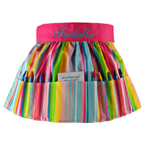 Personalized Big Sister Crayon Apron imagerjs