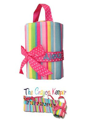 Personalized Big Sister Carry Me Crayon Keeper imagerjs