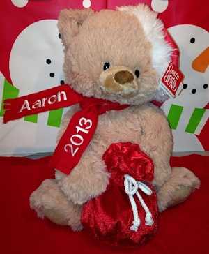 Personalized First Christmas Teddy Bear imagerjs