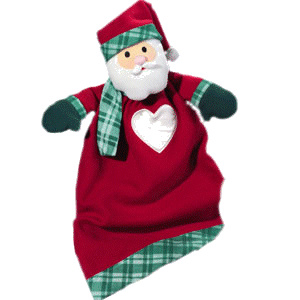 Personalized Santa Lovie Blanket imagerjs