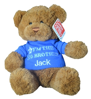 Personalized Big Brother Teddy Bear imagerjs