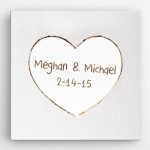 Personalized Romance & Love Canvas Print