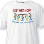 Personalized Grandpa T-shirts (3 Designs)