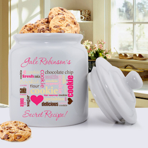 Secret Recipe Personalized Cookie Jar imagerjs