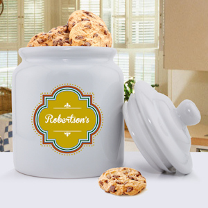 Vintage Charm Personalized Cookie Jar imagerjs