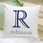 Family Name Personalized Throw Pillows - 7 Designs