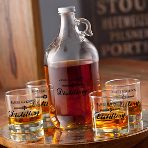 Personalized Distillery Growler Set imagerjs