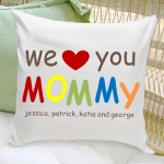 Personalized Mom Throw Pillow (3 Designs)
