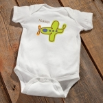 Personalized Baby Bodysuit (8 Designs)