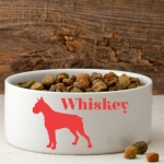 Man's Best Friend Silhouette Dog Bowl (40 Designs)