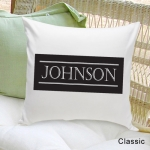 Personalized Family First Throw Pillow (3 Designs)