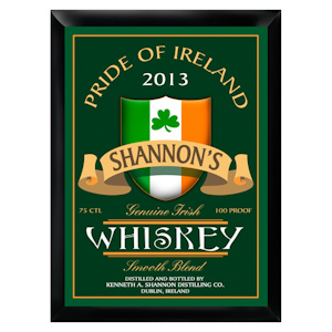Personalized Irish Whiskey Pub Sign imagerjs