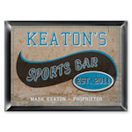 Personalized Sports Bar Pub Sign