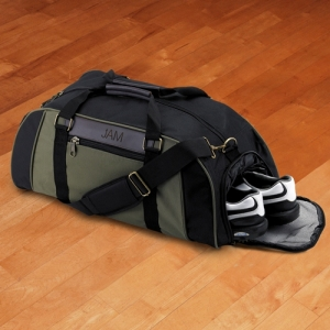 Personalized Deluxe Duffel Bag imagerjs