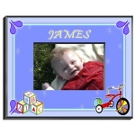 Personalized Blocks Frame (Boy)
