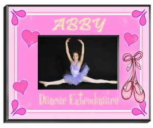 Personalized Dancer Frame image