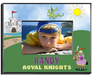 Personalized Knight Frame image