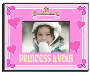 Personalized Princess Frame data-pin-no-hover=