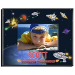 Personalized Boys Space Frame