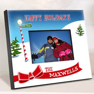 Personalized Holiday Photo Frames imagerjs