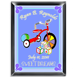 Personalized Wooden Blocks Room Sign (Boy) imagerjs