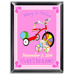 Personalized Wooden Blocks Room Sign (Girl)