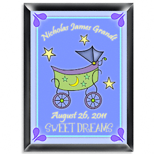 Personalized Carriage Room Sign (Boy) imagerjs