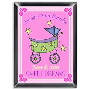 Personalized Carriage Room Sign (Girl) imagerjs