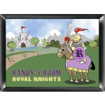 Personalized Knight Room Sign