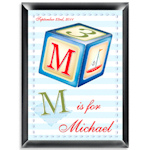 Personalized Sailor Boy Room Sign