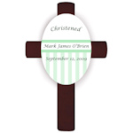 Custom Baptism or Christening Cross Plaques