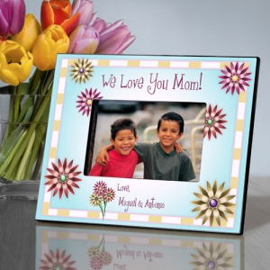 Personalized Mother's Day Flowers Photo Frame imagerjs