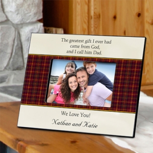 Personalized Fathers Poem Frame (4 Designs) imagerjs