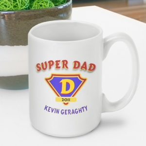 Personalized Super Dad Coffee Mug imagerjs