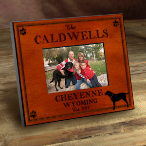 Personalized Cabin Series Picture Frames (9 Designs) imagerjs