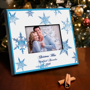 Personalized Snowflake Photo Frames (3 Designs) imagerjs