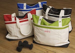 Personalized Fitness Fun Tote Bag imagerjs