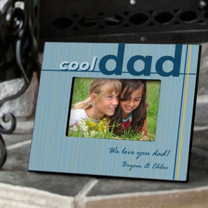 Personalized Cool Dad Photo Frame imagerjs