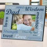 Personalized All-Star Dad Picture Frame