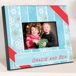 Christmas Snow Picture Frames (5 Designs)